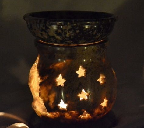 Decor Aroma Burner Candle Material: Glass
