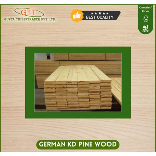 German Kd Pine Wood