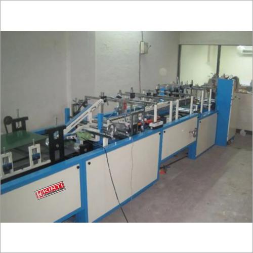 Lock Bottom Pasting Machine 7.5 HP Motor Power With Gun System