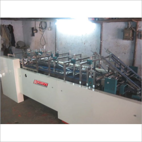 Four Fold Duplex Box Pasting Machine