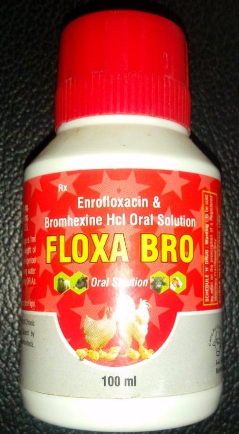 Enrofloxacin & Bromhexine Hcl Oral Solution