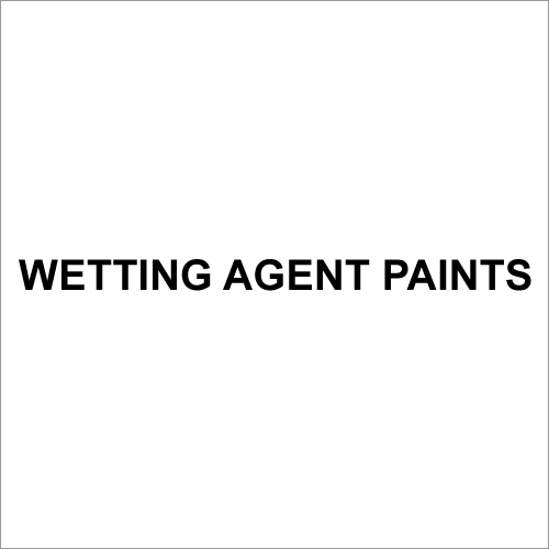 Wetting Agent Paints