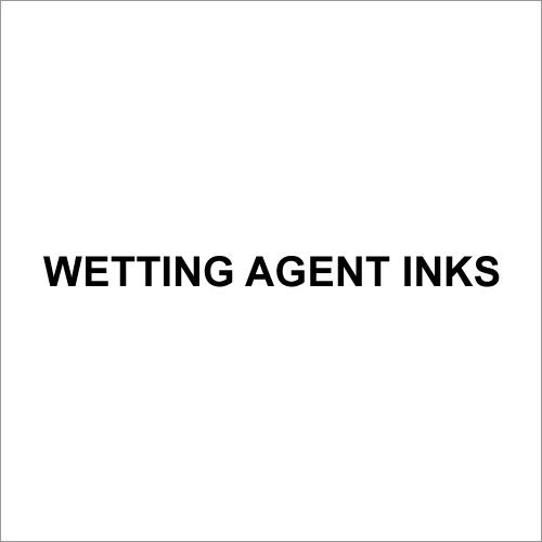 Wetting Agent Inks