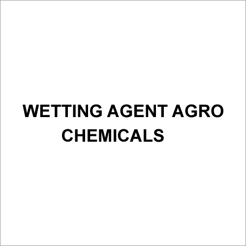 Wetting Agent Agro Chemicals
