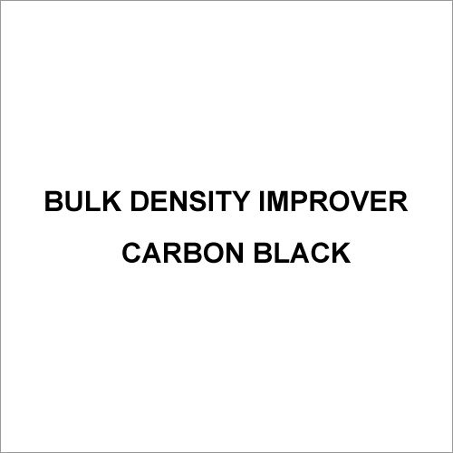 Bulk Density Improver Carbon Black