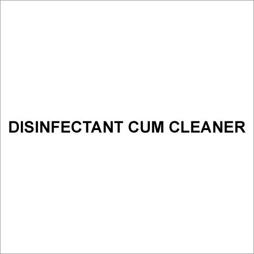 Disinfectant Cum Cleaner