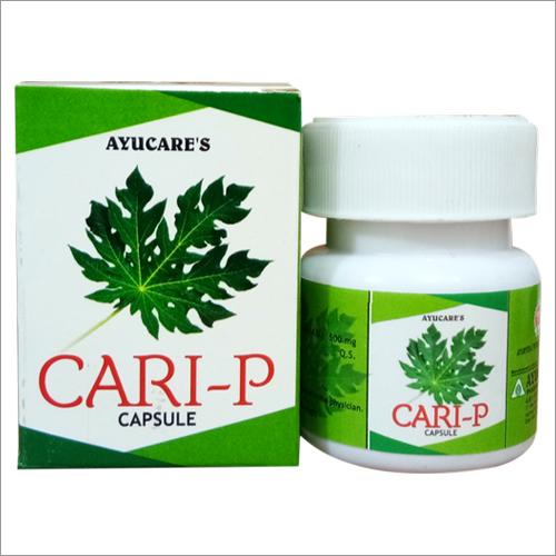 Papaya Leaf Extract Cari-P Capsule For Dengue