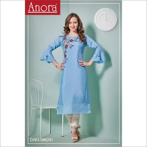 Anora Fashions Cotton Designer Kurti