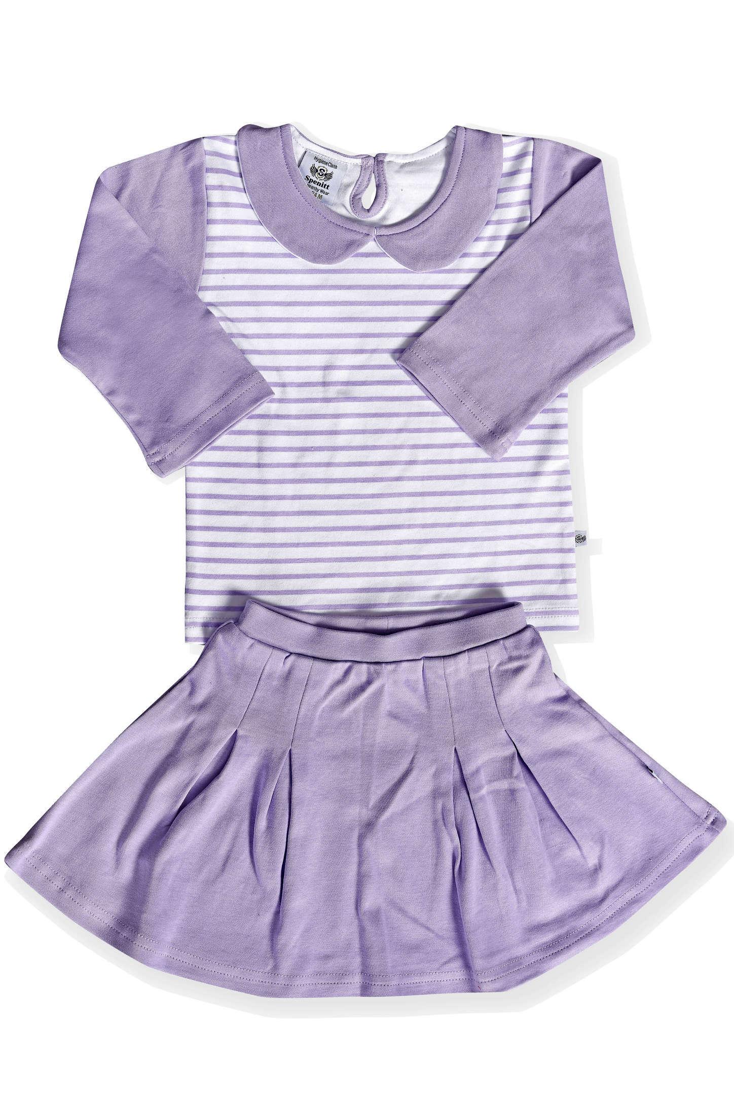 Designer Full Sleeve Top And Skirt