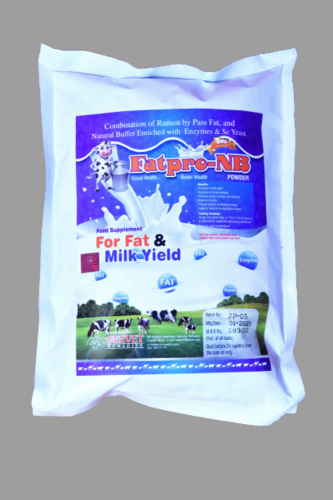 Organic Feed Supplement For Fat & Milk Yield