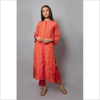 Ladies Kurti With Palzaao Set