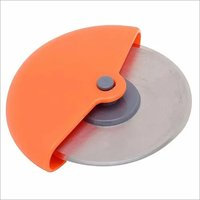 Stainless Steel Round Pizza Cutter, Multicolour