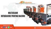 Multicolour Flexographic Printing Machine