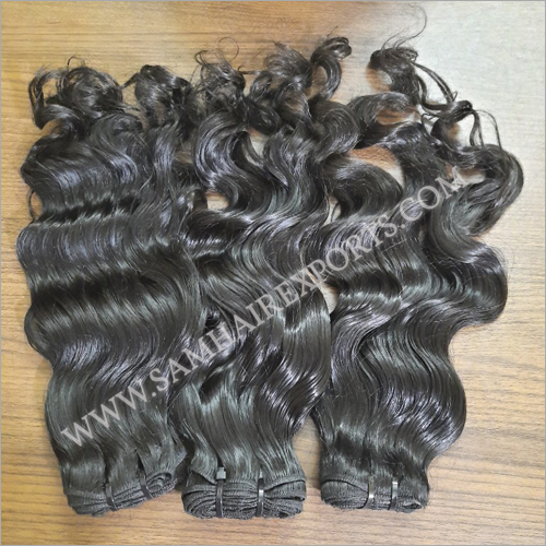 Indian Black Human Hair