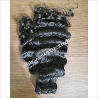 Curly Weft Hair Extension
