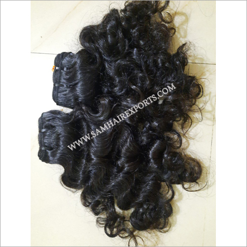 Raw Deep Curly Human Hair Extension