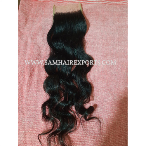 Loose Wave Transparent Closure