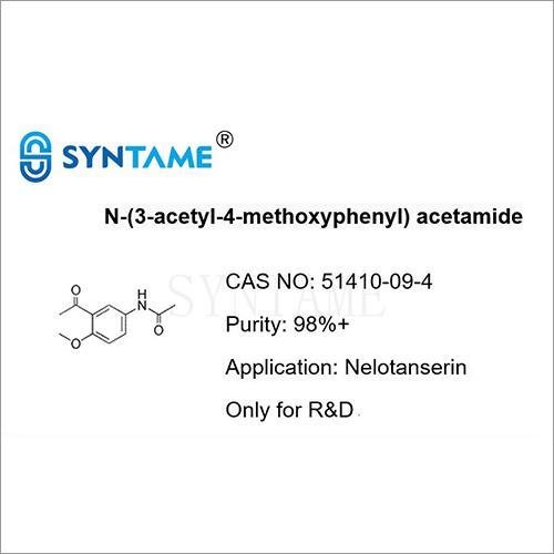 N-(3-acetyl-4-methoxyphenyl) acetamide