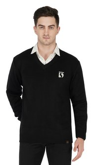 Black Woollen Uniform sweater