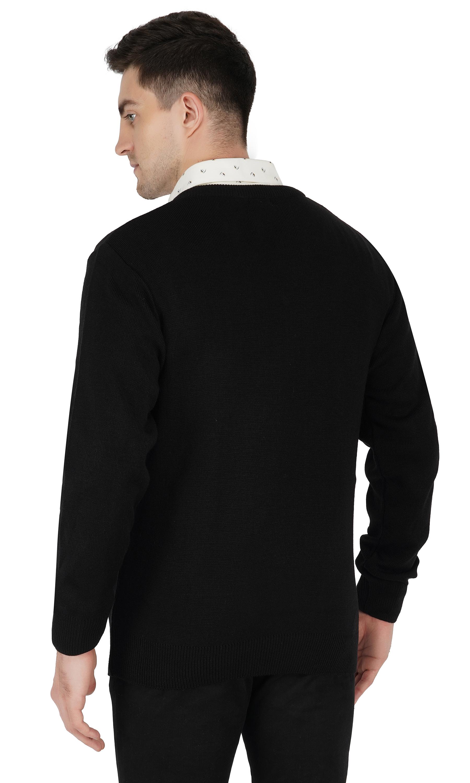 Black Woollen Uniform sweater
