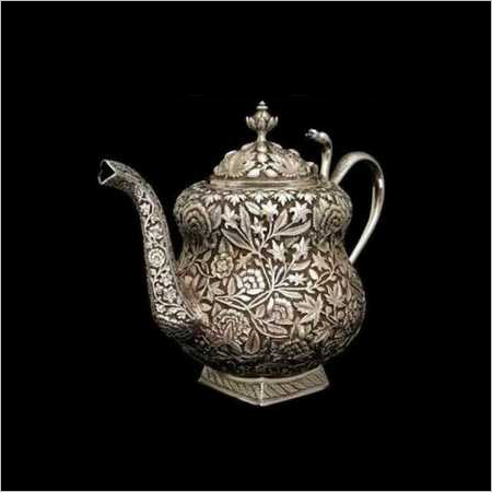 925 Silver Article Teapot