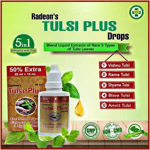 Tulsi Plus Drops