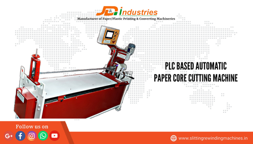 PLC Based Automatic Paper Core Cutting Machine