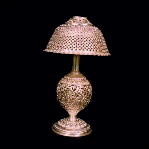 Silver Article Table Lamp