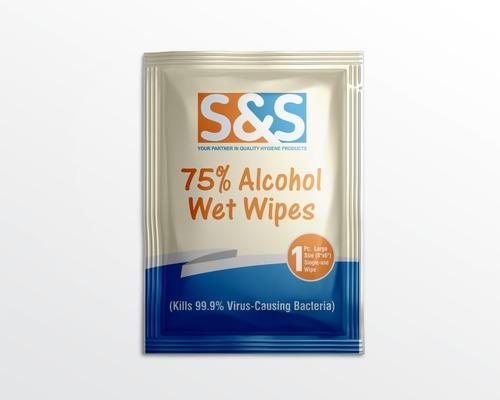 Sanitizer Alcohol Wipes