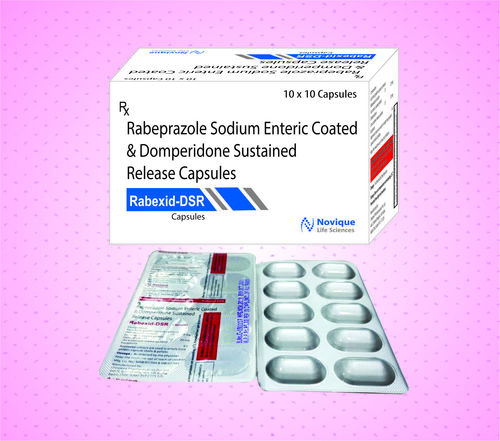 Rabeprazole 20 Mg + Domperidone 30 Mg (Sustained Release)