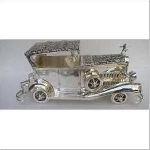 Silver Antique Car