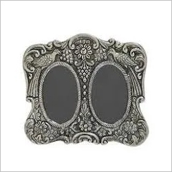 925 Round Silver Article Photo Frame