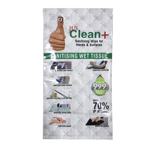 Sanitizing Wet Tissue