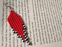 Fringes Beaded Earrings