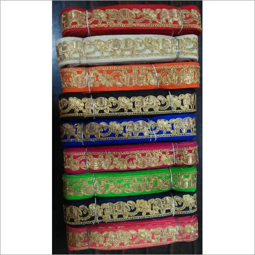 Designer Handwork Saree Lace