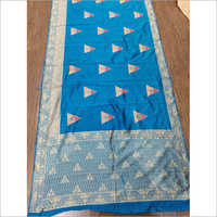 Ladies Jacquard Printed Sarees