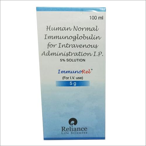 Human Normal Immunoglobulin for Intravenous Administration IP 5 Percent Solution