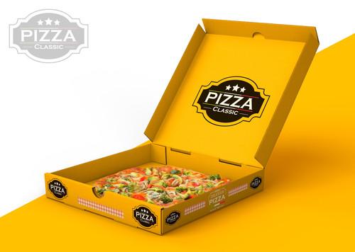 Multicolor Printed Pizza Boxes