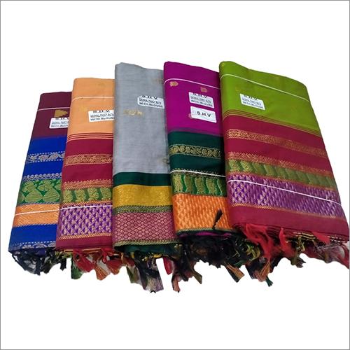 Stylish Handloom Cotton Saree