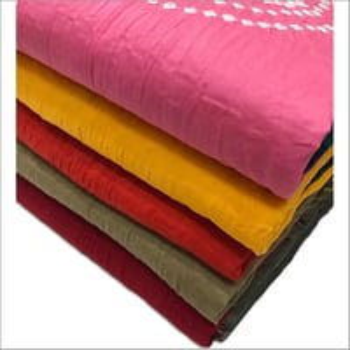 Cotton Bandhani Suit Fabric