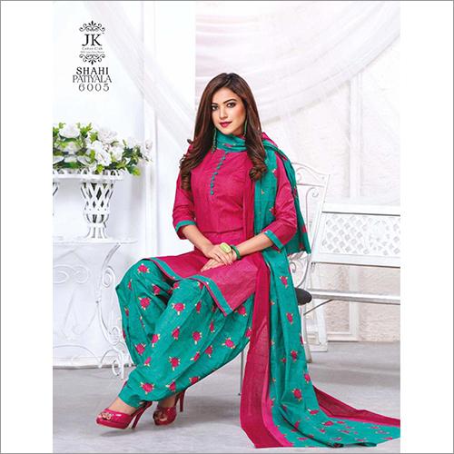 Ladies Printed Patiala Suit