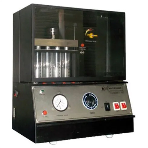 Injector Cleaning Machine