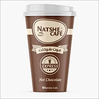 Instant Hot Chocolate Powder Drink Travel Cup