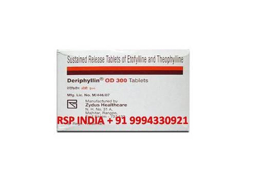 Deriphylin  Od 300 Mg Tablets