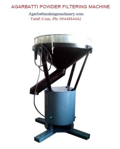 Agarbatti powder Filtering machine