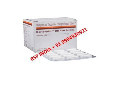 Deriphylin Od 450 Mg Tablets
