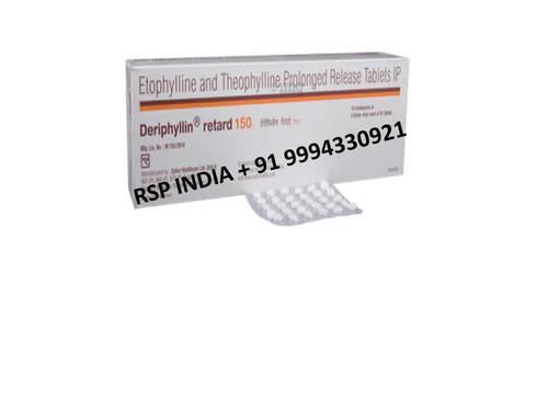 Deriphyllin Ret 150 Tablets