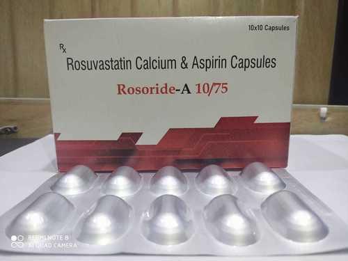 ROSOVASTATIN10 MG + ASPIRIN 75 MG