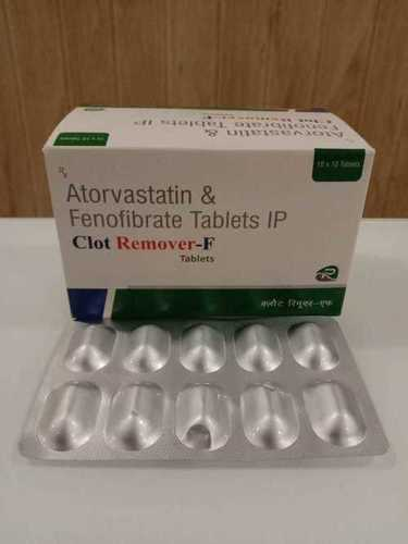 ATORVASTATIN 10 MG +FINOFIBERATE 160 MG