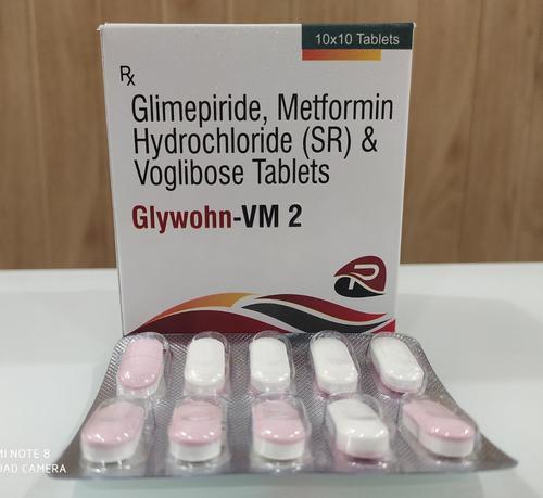 GLIMIPRIDE 2 MG+METFORMIN 500 MG+VOGLIBOSE 0.3